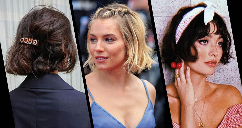 easy ways to style your bob haircut with bangs